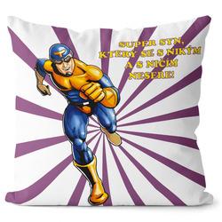 Polštářek Super syn – superhrdina