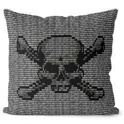 Polštářek Code skull