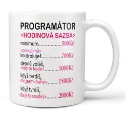 Hrnek Programátor sazba