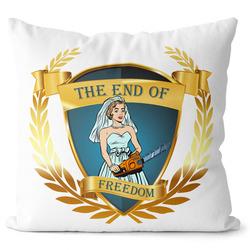 Polštářek The end of freedom