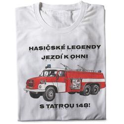 Tričko Hasičské legendy – Tatra 148 (pánské)
