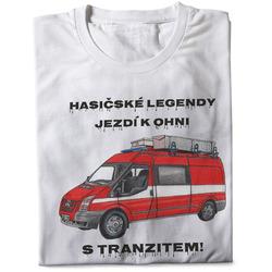 Tričko Hasičské legendy – Tranzit (pánské)