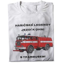 Tričko Hasičské legendy – Trambus (pánské)