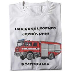 Tričko Hasičské legendy – Tatra 815 (pánské)