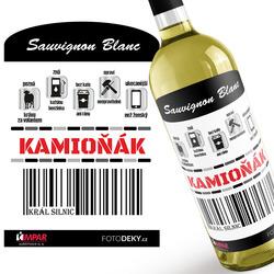 Víno Kamioňák 100%