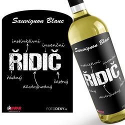 Víno Řidič – vlastnosti