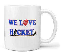 Hrnek Milujeme hokej
