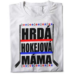 Tričko Hokejová máma (dámské)
