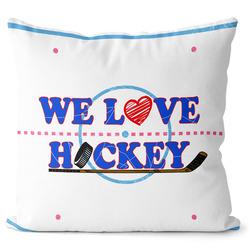 Polštář Milujeme hokej