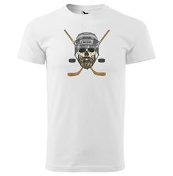 Tričko Hokejová lebka se jménem (pánské)
