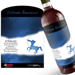 Víno Střelec (23.11. - 21.12.) - Modré provedení