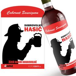 Víno Dobrovolný hasič