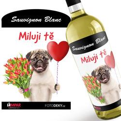 Víno Milující mops