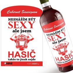 Víno Sexy hasič