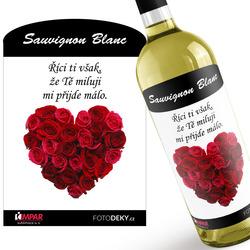 Víno Srdce z růží