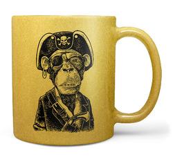 Hrnek Opičí kapitán – zlatý