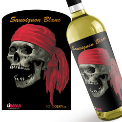 Víno Pirate skull