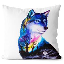 Polštář Vlk art
