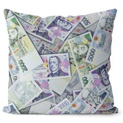 Polštář Peníze