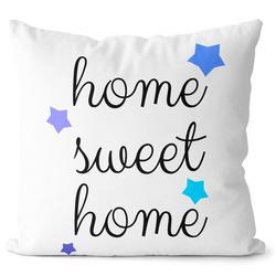 Polštářek Home Sweet Home - stars