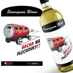 Víno Bacha na plechovky