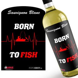 Víno Born to fish