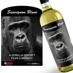 Víno Gorilla doesn´t fear