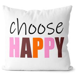 Polštářek Choose Happy 1