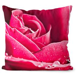 Polštář Růže růžová
