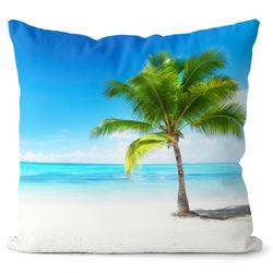 Polštář Pláž s palmou
