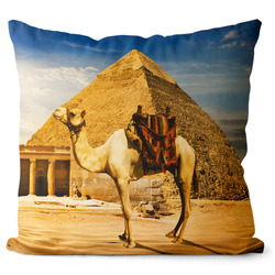 Polštář Velbloud u pyramidy