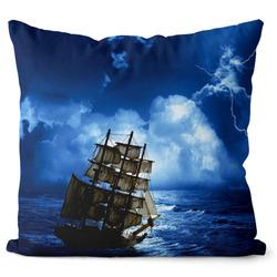 Polštář Loď v noci
