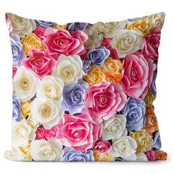 Polštář Barevné růže