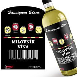Víno 100% Milovník vína