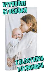 Osuška z vlastních fotografií a textů ke Dni matek