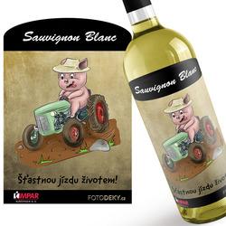 Víno Prasátko a traktor