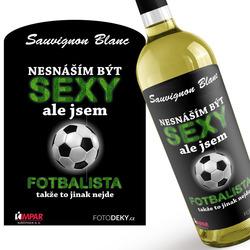 Víno Sexy fotbalista