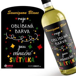 Víno Vánoční světýlka