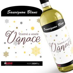 Víno Šťastné a veselé Vánoce