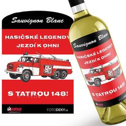 Víno Hasičské legendy – Tatra 148