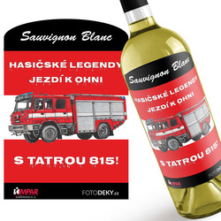 Víno Hasičské legendy – Tatra 815