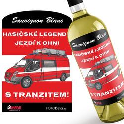 Víno Hasičské legendy – Tranzit