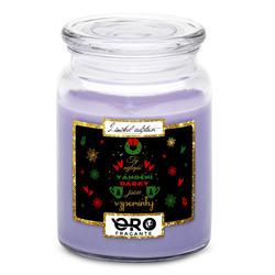 Svíčka Vánoční vzpomínky