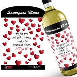 Víno ty jsi jako víno