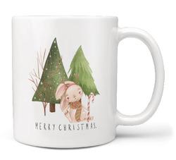Hrnek Vánoční les