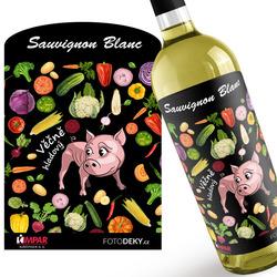 Víno Věčně hladový – zelenina