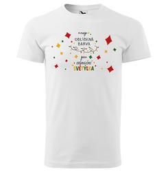 Tričko Vánoční světýlka - dětské