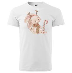 Tričko Vánoční zajíček - dětské