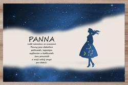 Prostírání Panna (23.8. - 22.9.) - modré