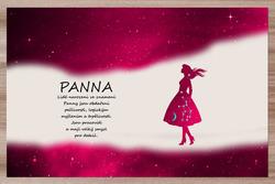 Prostírání Panna (23.8. - 22.9.) - červené